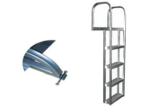 L65S -Dock / Pier Aluminum(straight) Ladder - 65""