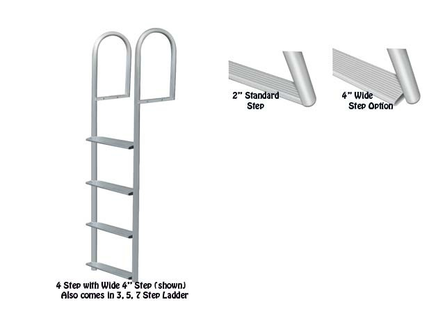 stationary dock ladder
