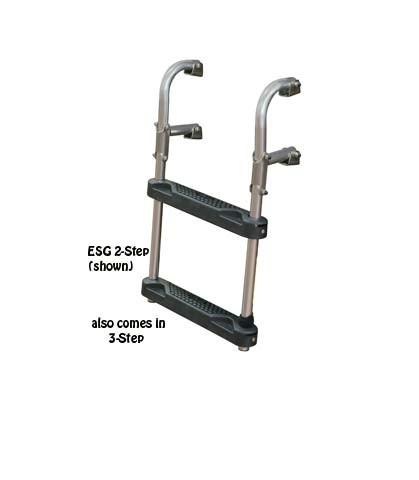 transom boat ladder