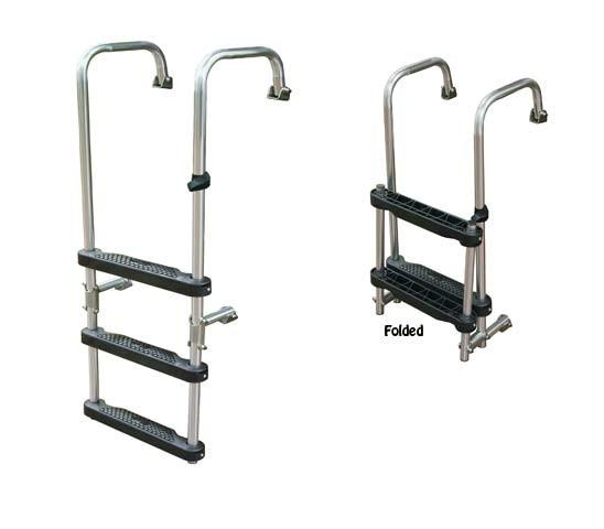 3 Step Transom Ladder O B Amp I O J Ladders And