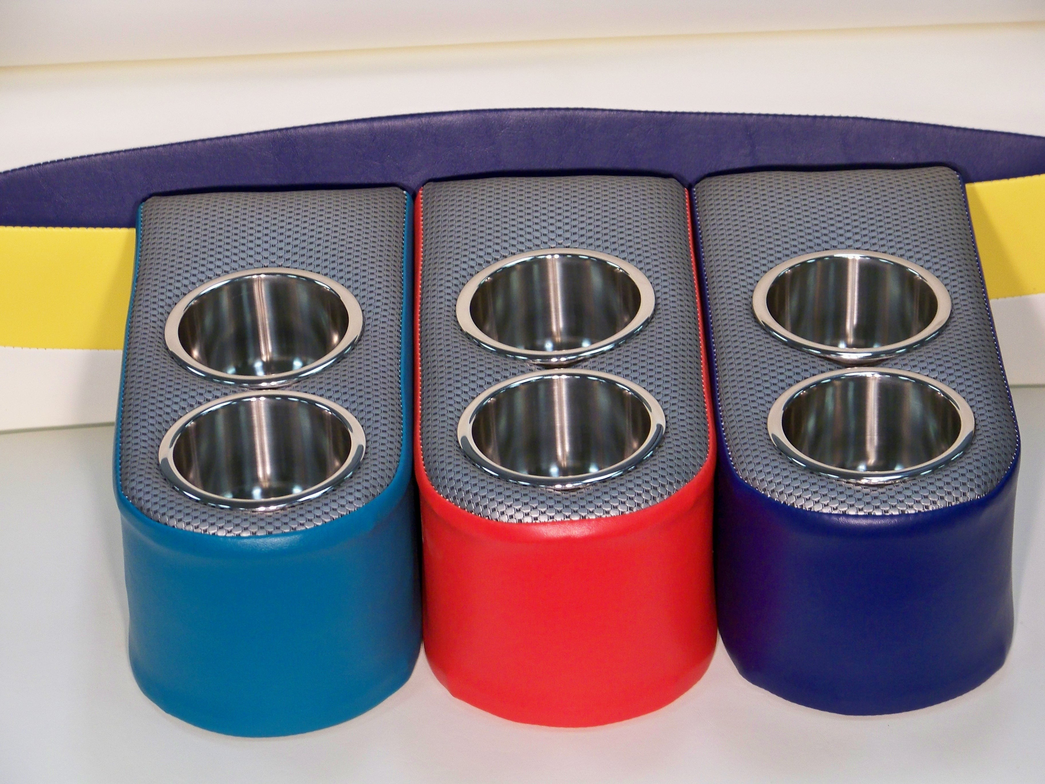 pORTABLE fLOATING CUP HOLDERS