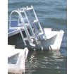 Model L65F Folding Pontoon Swim Ladder