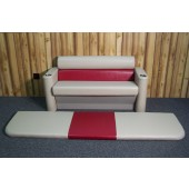 Remanufactured Pontoon Boat Sun Deck Lounge