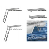 under deck pontoon ladder
