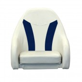 Elite Style Standard Pontoon Captains Chair Helm Seat - Front View