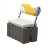 Flip-Flop Pontoon Boat Seat