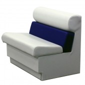 Premium Style Captains Bench Seat - Perspective View