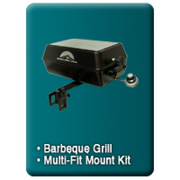 Pontoon Boat Barbecue Gas Grill Portable Gas Grill