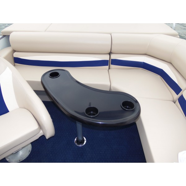 Kidney Shape Pontoon Boat Table