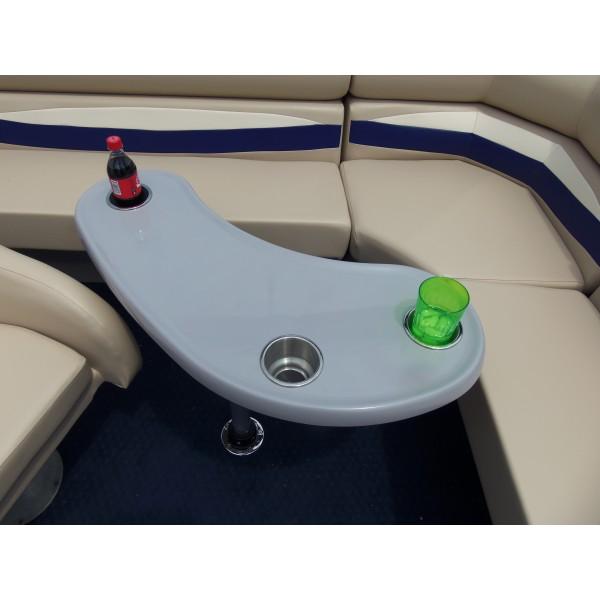 Kidney Shape Pontoon Boat Table