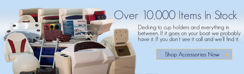 Everything Pontoon, over 10,000 pontoon boat accessories