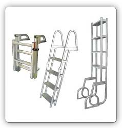 Pontoon, Boat, and Dock/Pier  Swim Ladders