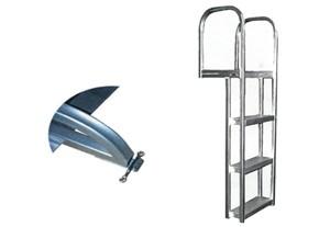 "Dock / Pier Aluminum Ladder - 55"""