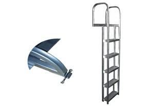 "L75S -Dock / Pier Aluminum(straight) Ladder - 75"""