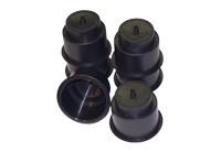 black cup holders