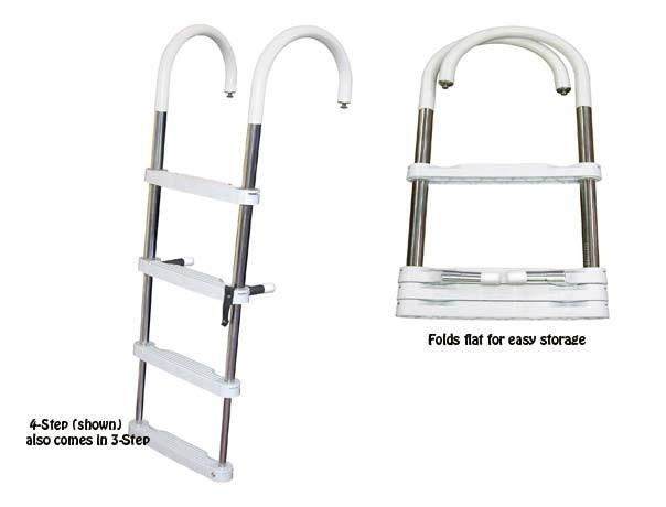 telescoping pontoon ladder