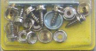 snap fasteners with screw