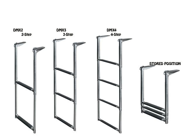 telescoping drop ladder