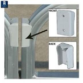 Pontoon gate finger guard