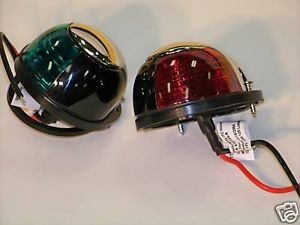 Navigation Lights red and green