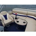 Kidney Shape Pontoon Boat Table Only