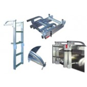 Model L40FS Fold/Store Pontoon Ladder