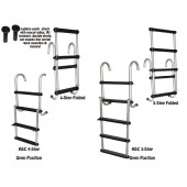 Removable Folding Pontoon Boat Ladder -J