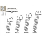 3 to 7 step dock ladder