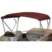 Complete Pontoon Boat Bimini Top Cover
