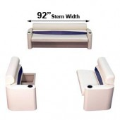 92 inch stern elite style complete pontoon seating group furniture