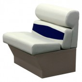 Elite 24 inch Pontoon Boat Seat Perspective View