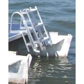 65F Ladder on Pontoon Boat