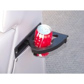 "Swing-out cup holder  7"" x 2""  4 3/4"" Overall Depth"
