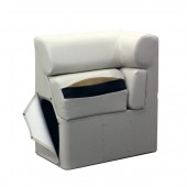Left Chaise Lean Back Arm Rest - Platinum Style