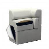 Left Chaise Lean Back Arm Rest - Platinum Style