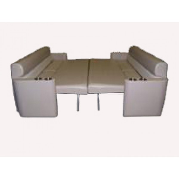 Pontoon Sun Lounge Sleeper Seat
