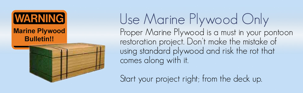 Pontoon Boat Marine Plywood Decking
